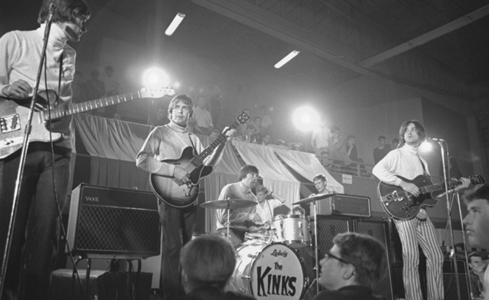 The Kinks performing in Oslo, Norway, in 1966. Photo by Ørsted, Henrik / Oslo Museum, image no. OB.A10952