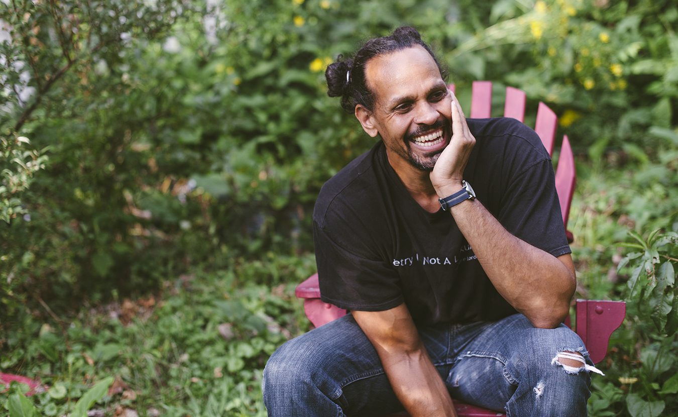 """Among the Finalists for the National Book Award is """"Catalog of Unabashed Gratitude,"""" a collection of poems by Indiana University professor Ross Gay. 