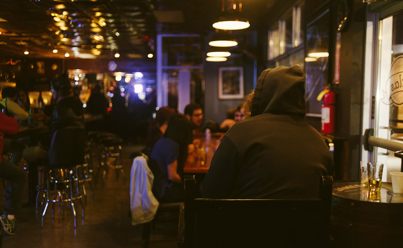 Many local bars have staff members responsible for intervening in situations that appear to be dangerous. For example, The Atlas Ballroom says it hires more door staff per square foot than any other bar in town. | Photo by Natasha Komoda