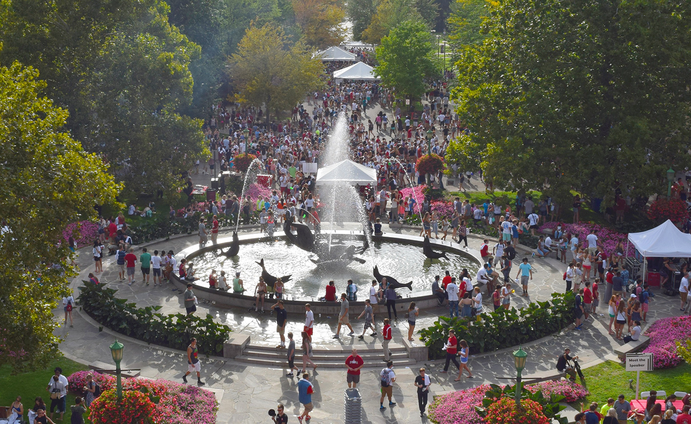 """The Indiana University Arts and Humanities Council has created the First Thursdays Festival at Showalter Arts Plaza — a monthly event that will """"celebrate and showcase"""" a range of arts. 