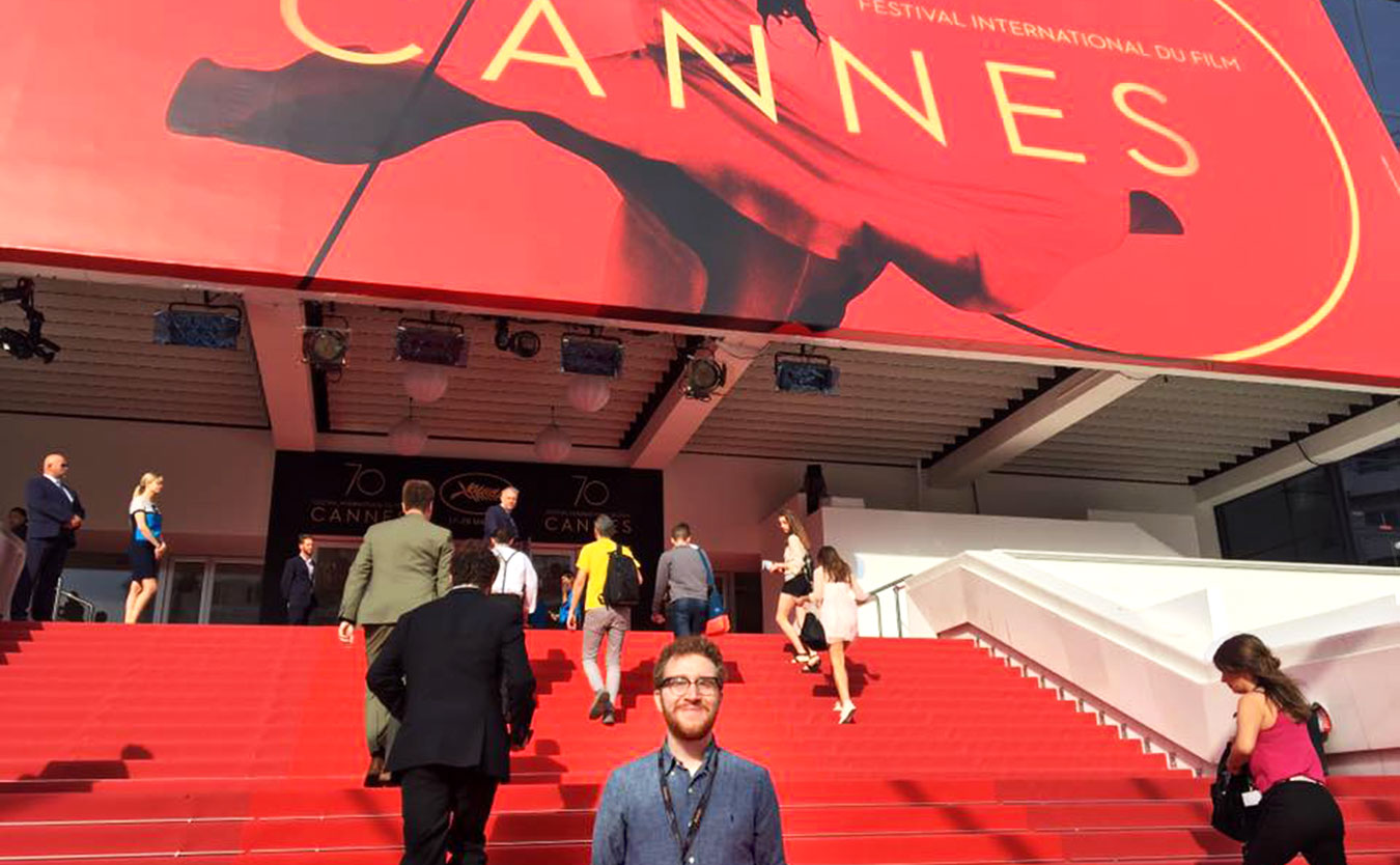 Filmmaker TJ Jaeger's short film screened at Cannes in May. | Courtesy photo