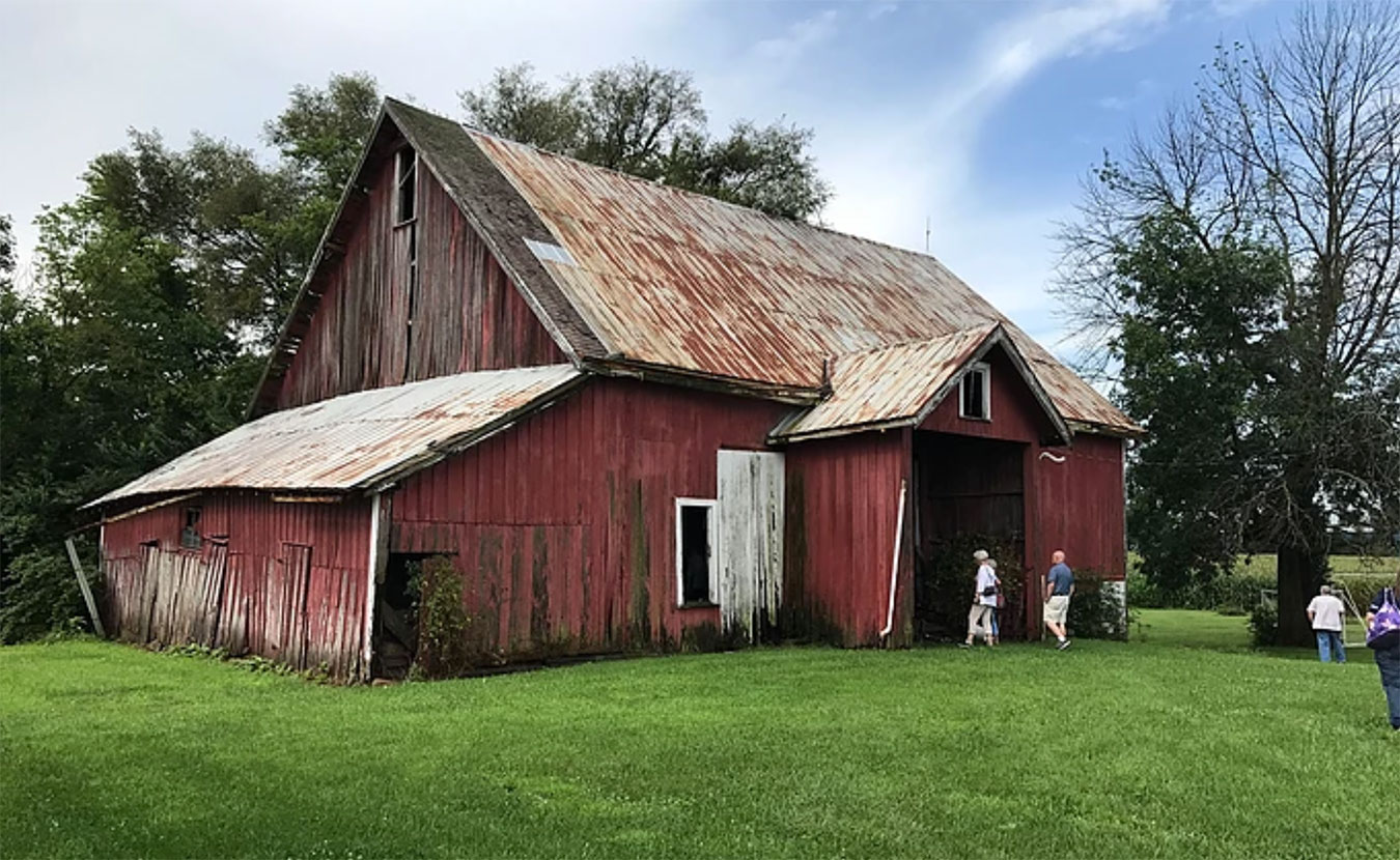 Every time you tear down a barn you obliterate a memory, says barn preservationist Duncan Campbell. But he and others are committed to saving what's left of these legacies of Indiana's diverse barn heritage. | Photo courtesy of the Indiana Barn Foundation