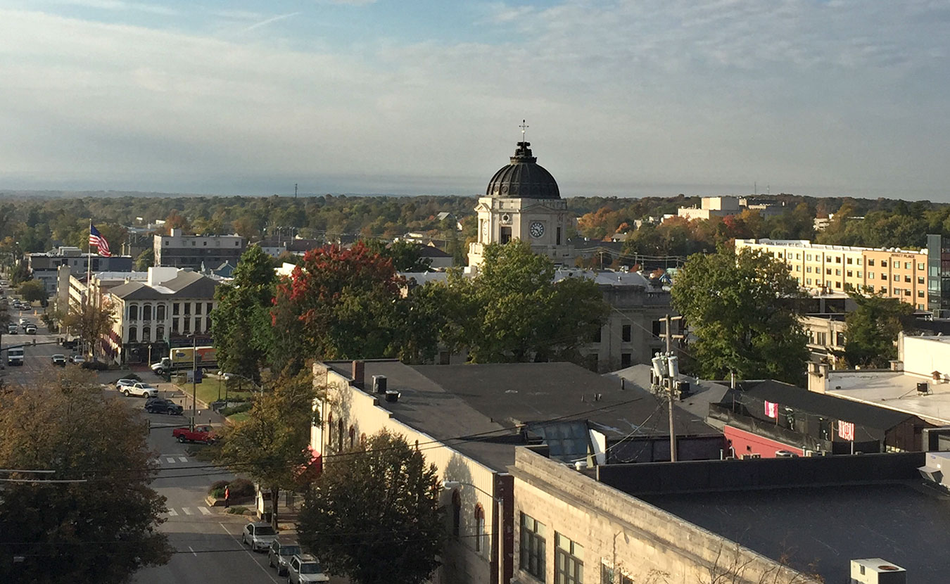 A local low-barrier housing program, called Courage to Change, helps people with substance use disorder find housing in Bloomington. | Limestone Post