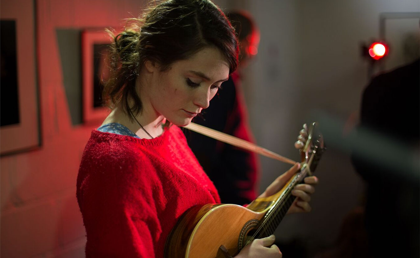 Rachel Sermanni, a 25-year-old singer-songwriter from Scotland, will perform at the Lotus World Music and Arts Festival on September 29 and 30. | Photo courtesy of Ian Wallman