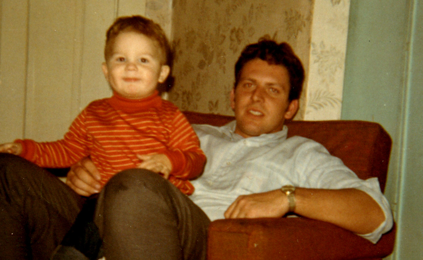 """Troy Maynard (pictured here as a child with his father) spent many years angry at his troubled father, but that changed when Troy began having children and realized fatherhood wasn't just putting """"bad drawings on your fridge."""" 