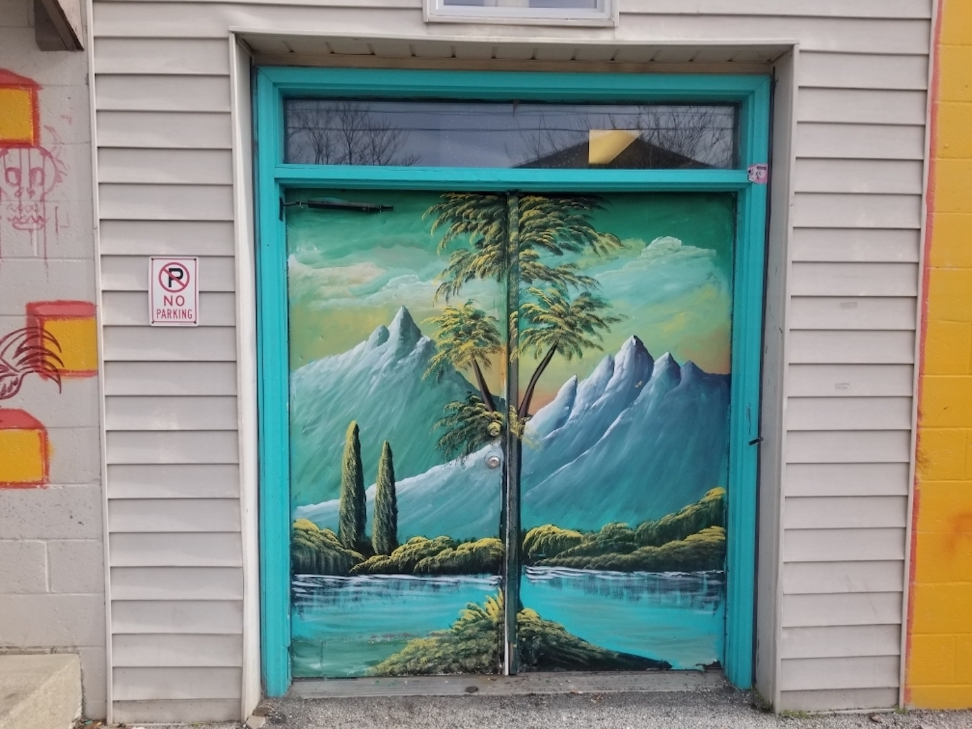 Artisan Alley, 'Entrance to Paradise' (2018), 222 W. 2nd St., artist — Haider Ali | Courtesy photo