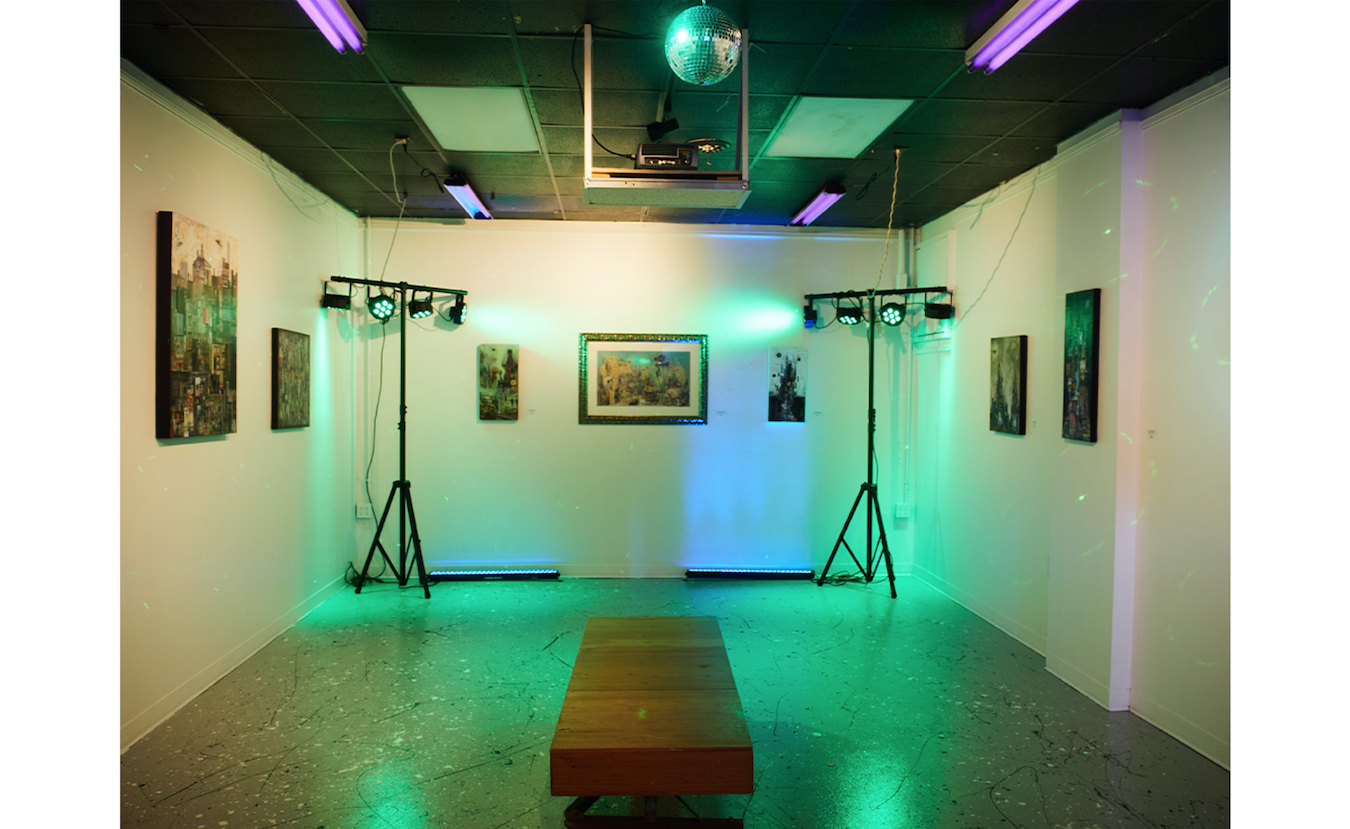 If Dimensions Gallery has no artist exhibition, Artisan Alley plans to transform the space for music performances via the online platform Twitch.   Photo by Paige Strobel