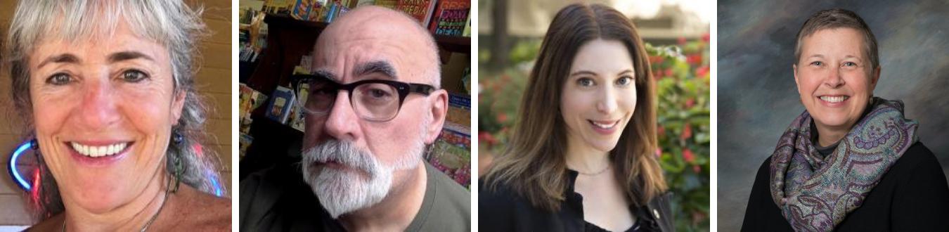 Limestone Post columnists: (l-r) Ruthie Cohen, Michael G. Glab, Jennifer Piurek, Rebecca Hill. | Courtesy photos