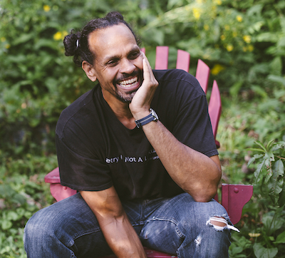 In 2015, Natasha Komoda photographed local poet Ross Gay (above) for an LP story by Brian Hartz. Since then, some of Natasha's photos have been republished in national publications. | Photo by Natasha Komoda