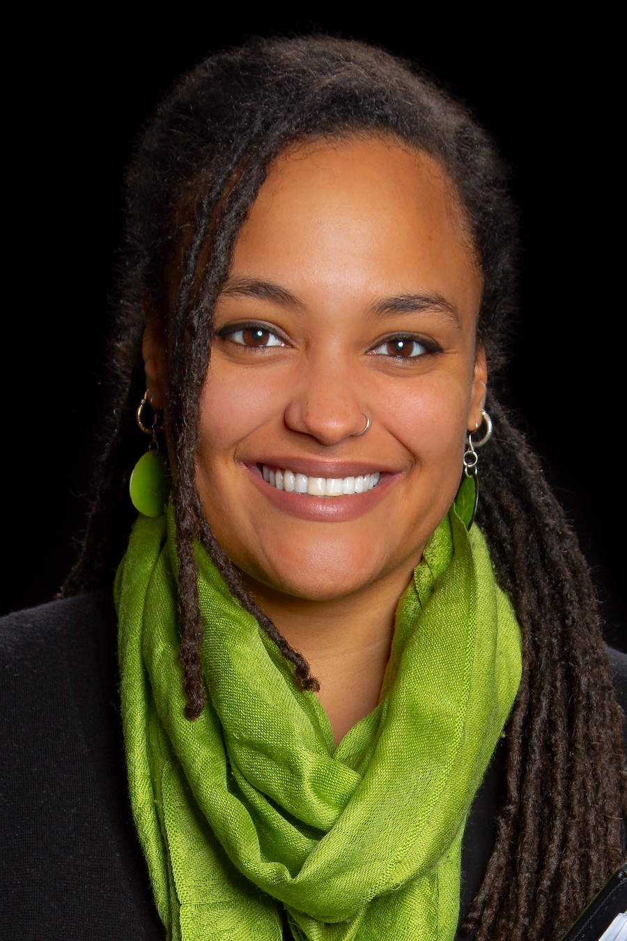 Monica Black, social worker at IU Health Riley Physicians Pediatrics | Photo by Garrett Poortinga, Green Hat Media