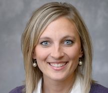 As community wellness coordinatoratPurdue Extension, Ashlee Sudbury (above) works with four rural counties — Dubois, Martin, Daviess, and Orange — to help solve problems such as access and availability to healthcare. | Courtesy photo