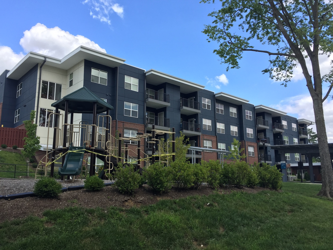 The Bloomington Housing Study (2020) predicts that the city will need more than 1,000 rental units and more than 1,500 owner-occupied homes in the next decade. B-Line Heights (pictured), an affordable rental housing project on North Rogers Street, has 34 units. | Limestone Post