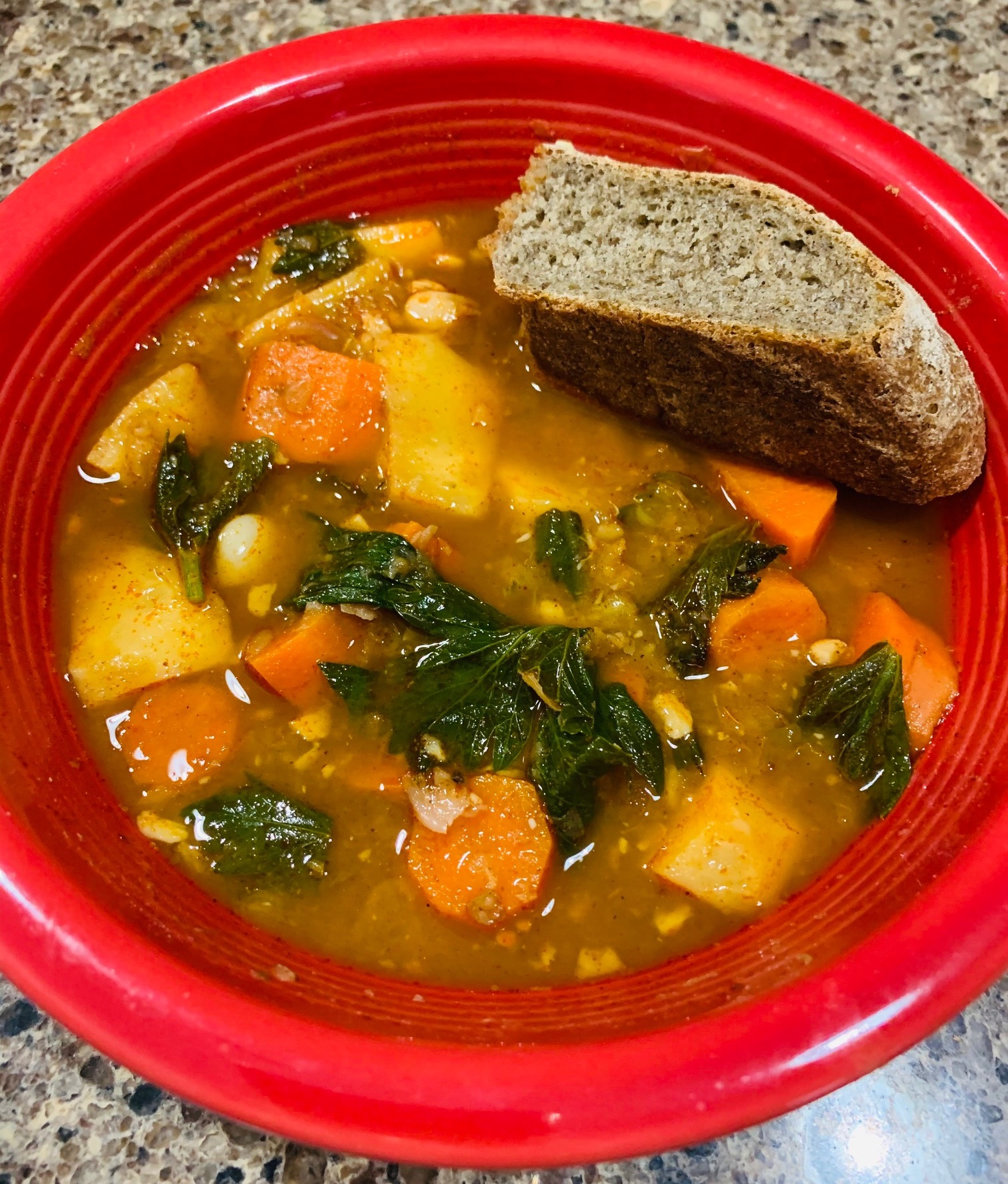 Hungarian bean soup! | Photo by Ruthie Cohen