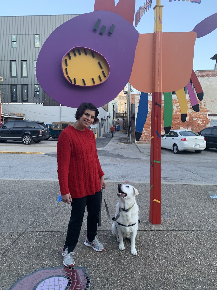 For Adria and others living with disabilities, walkable neighborhoods and transit options near downtown Bloomington offer easy access to necessities like grocery stores, emergency services, and pharmacies. | Courtesy photo
