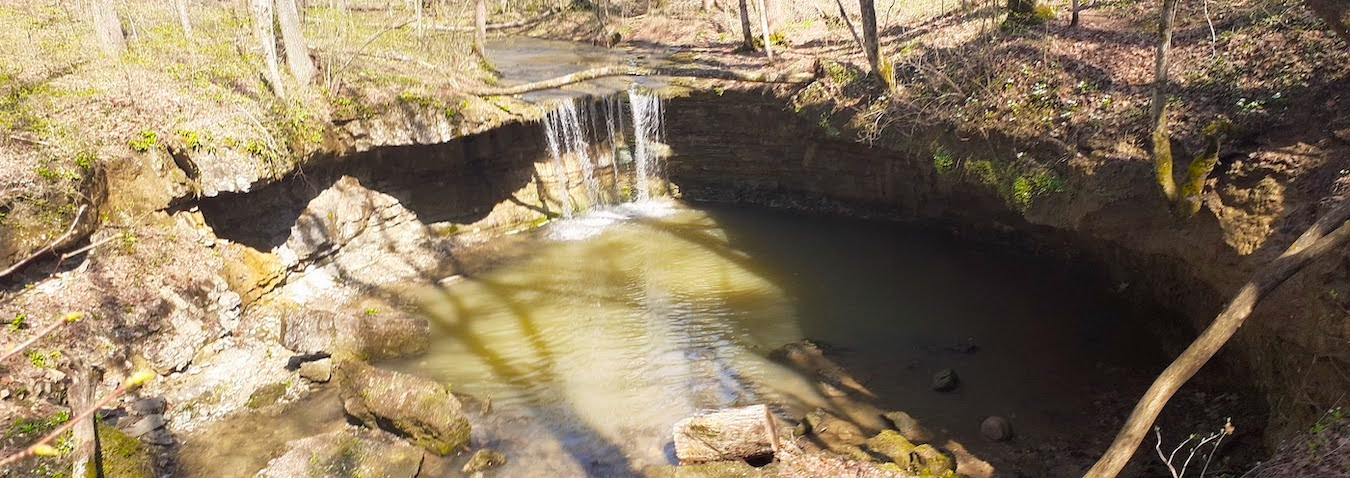Rock Rest Falls at Calli Nature Preserve in Jennings County. | Photo by Diane Walker
