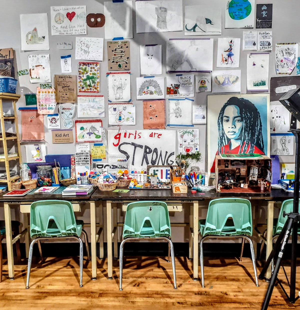 On Washington Street in Greencastle, Conspire: Contemporary Craft is a teen community center as well as a store that works with 130 local and regional craftspeople to sell handmade products. | Photo by Diane Walker