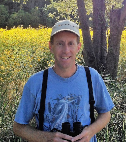 David Rupp runs IndiGo Birding Nature Tours and has led popular birdwatching excursions in southern Indiana and Central America.   Courtesy photo