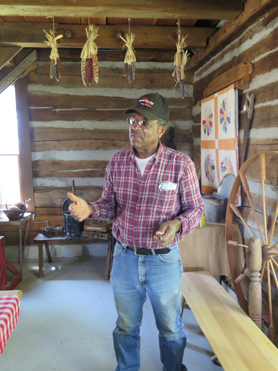 Stanley Madison still raises cattle and grows crops near his ancestors' community of Lyles Station in Gibson County, but his principal vocation is founder and president of the nonprofit Lyles Station Historic Preservation Corporation. | Limestone Post