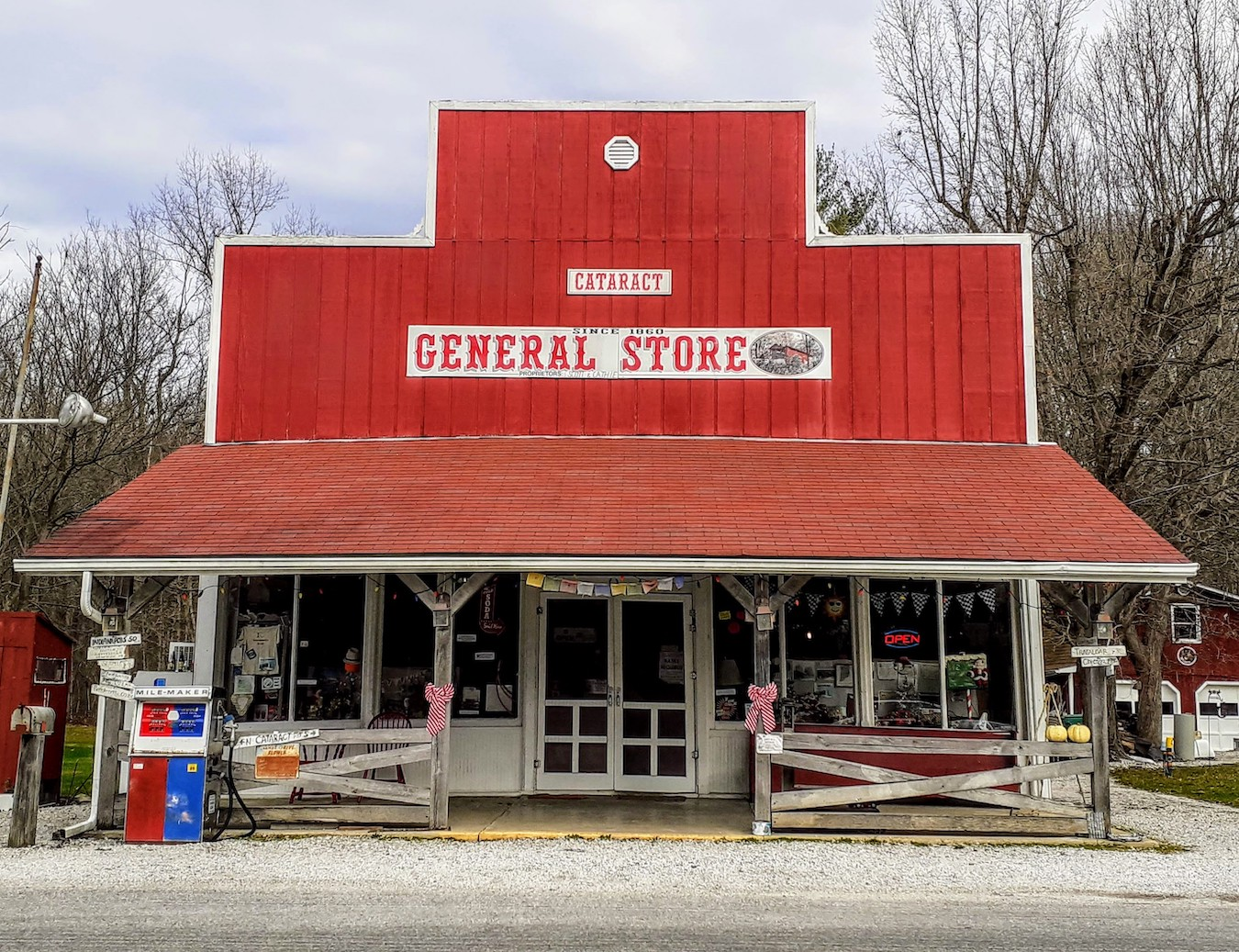 The Cataract General Store is another 'Owen County contender for statewide distinction.' | Photo by Diane Walker