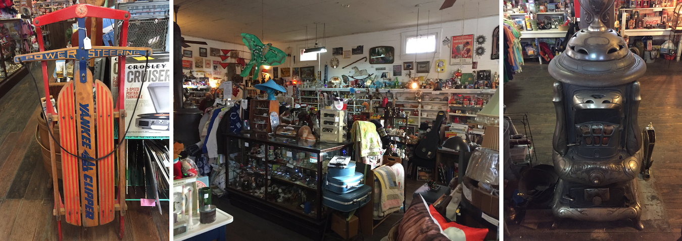 The Cataract General Store is 'a vast amount of fun,' Walker writes, where vintage merchandise is 'cheek by jowl' with items like homemade salsa, specialty soda, and 'other weird, funny, one-of-a-kind items.' | Limestone Post