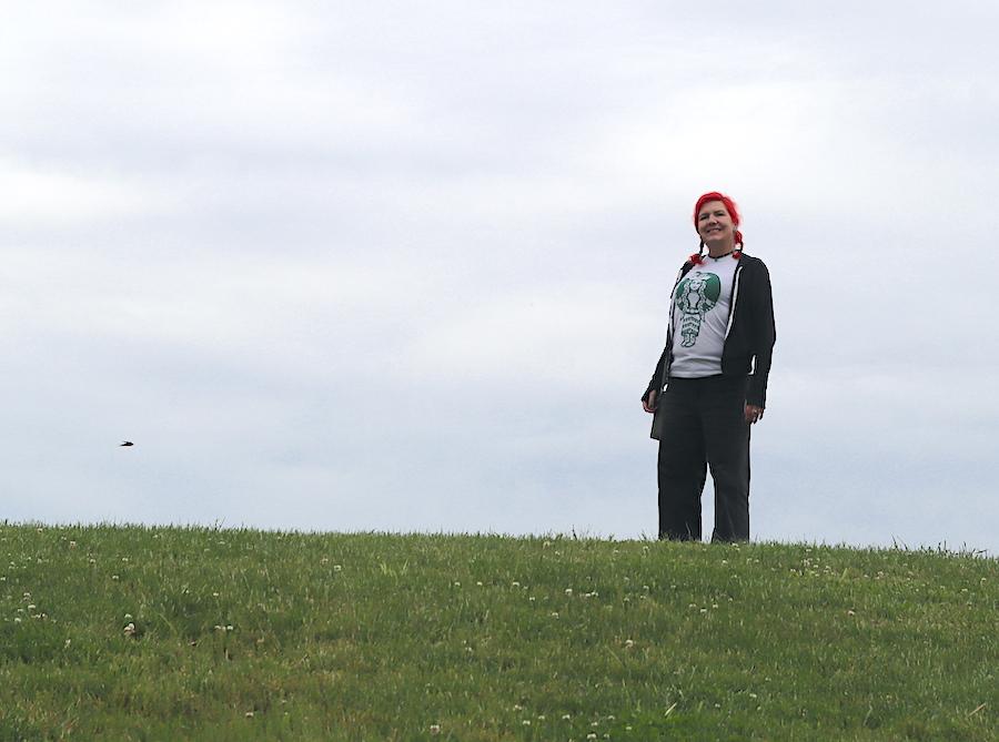 Laura Martinez at Angel Mounds | Courtesy photo