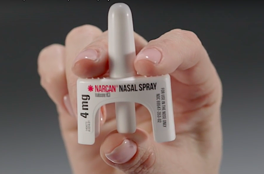 Narcan, the brand name for the drug naloxone, can reverse the effects from an overdose of opioids and prevent a person from dying. | Courtesy photo